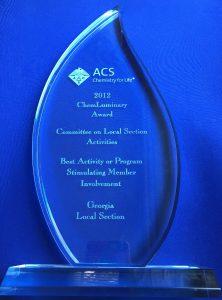 chemluminary-award